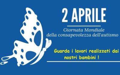 2 aprile 2020 -Giornata Mondiale della consapevolezza dell'autismo