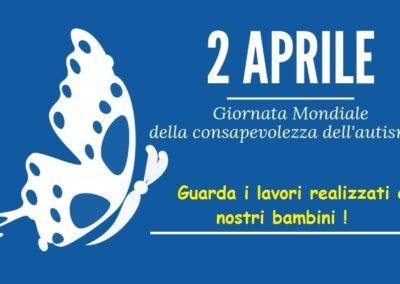 2 aprile 2020 – Giornata Mondiale della consapevolezza dell'autismo