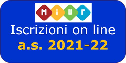 Iscrizioni classi prime scuola primaria e scuola infanzia – A.S. 2021/22