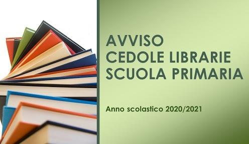 Nuova modalità distribuzione cedole per il ritiro dei libri di testo in libreria a.s. 2020/21