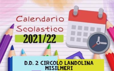 Inizio lezioni anno scolastico 2021-2022