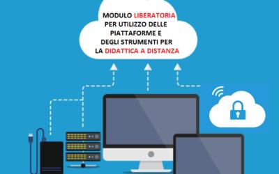 Circ. n. 149 liberatoria per utilizzo delle piattaforme e degli strumenti per la didattica a distanza