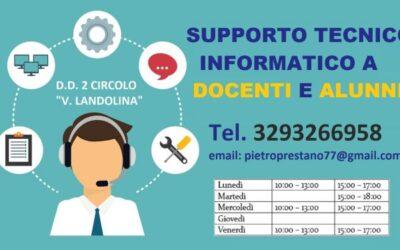 Supporto tecnico informatico ai docenti e alunni