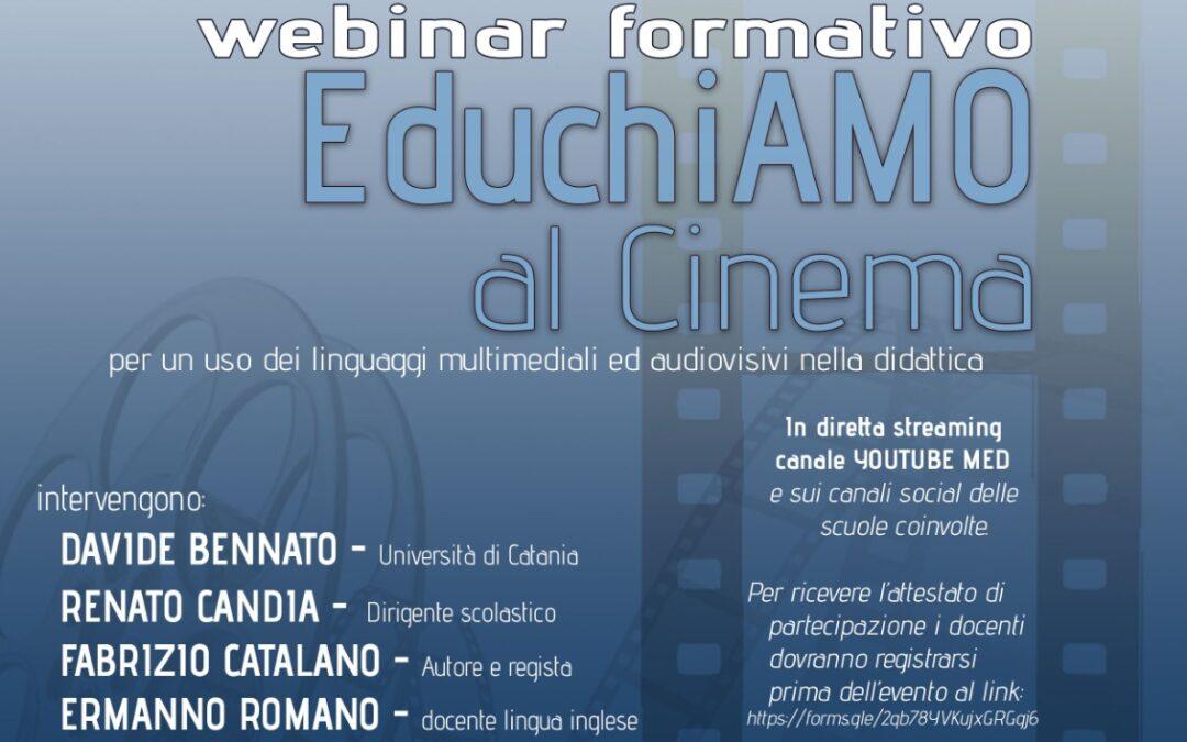"29/04/2021 – Webinar formativo ""EduchiAmo al Cinema"""