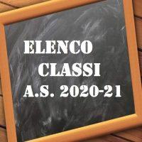 Trasmissione elenchi classi di scuola primaria e sezioni di scuola infanzia a s 2021_2022