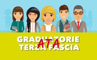 Pubblicazione graduatorie definitive d'istituto di 3^ Fascia Personale A.T.A. Triennio 2021/2022 – 2023/2024 – D.M. n. 50 del 03/03/2021