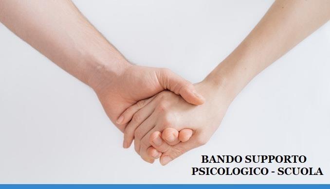 Avviso pubblico per la selezione mediante procedura ordinaria di affidamento diretto di incarichi di prestazione d'opera occasionale intellettuale ad esperti interni o esterni finalizzato all'individuazione di uno psicologo per supporto psicologico nelle istituzioni scolastiche a.s. 2020/2021