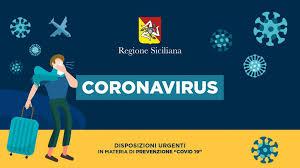 Coronavirus, ordinanza  CONTIGIBILE e URGENTE n.°1 e n.°2 del Presidente della Regione Siciliana